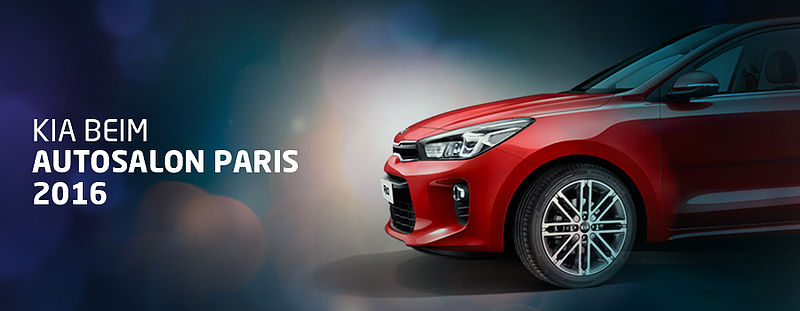 KIA BEIM AUTOSALON PARIS 2016