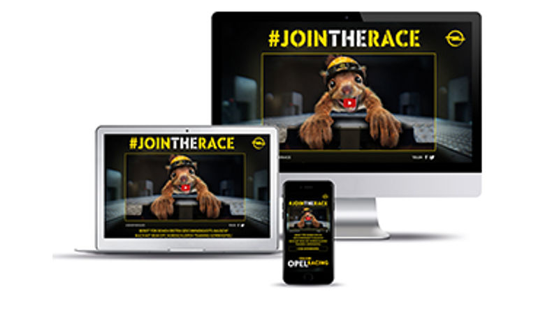 """Racing Faces"": Neues rasantes Social Video von Opel"
